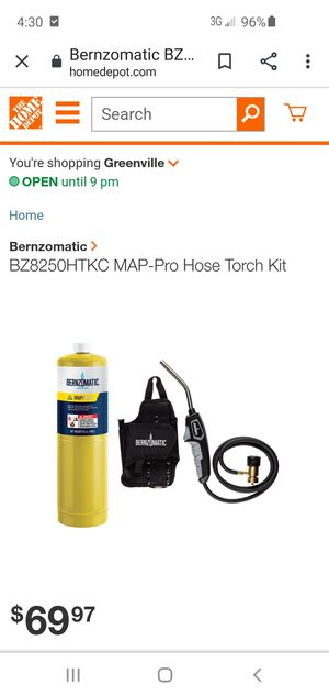 Torch set for Sale in Greenville, SC