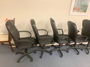 Office chairs 5 in total . for Sale in Riviera Beach, FL