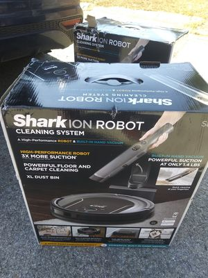 Shark ion robot cleaning system brand new in the box for Sale in Grapevine, TX