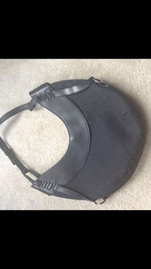 Authentic Black Gucci Monogram Half Moon Hobo Bag for Sale in Union City, GA
