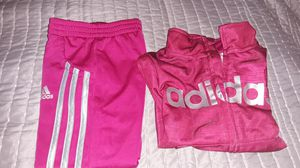 Adidas girls exercise jacket and pants. for Sale in Auburn, WA