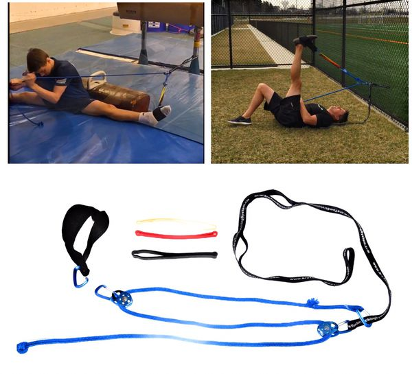 Stretching system bands workout bands yoga strap fitness bands