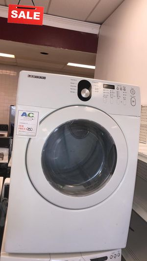 FIRST COME!!High Efficiency Electric Dryer Samsung CONTACT TODAY! #1510 for Sale in Silver Spring, MD