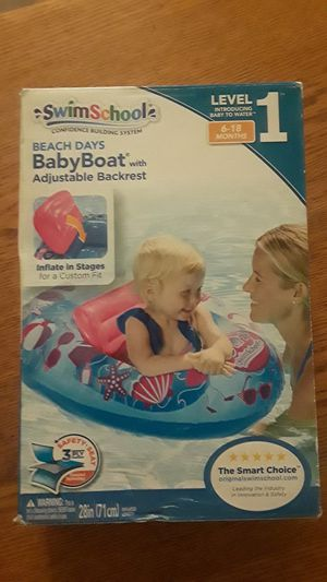 Swimming gear! Pampers & floatie, small, 6 to 18 months for Sale in Imperial Beach, CA