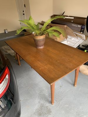 Solid wood desk, purchased from rice university for Sale in Houston, TX