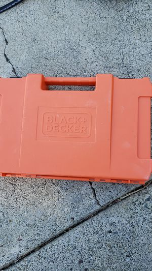 Black and Decker drill bit kit for Sale in Hayward, CA