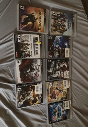 PS3 games (Used) for Sale in Murrieta, CA