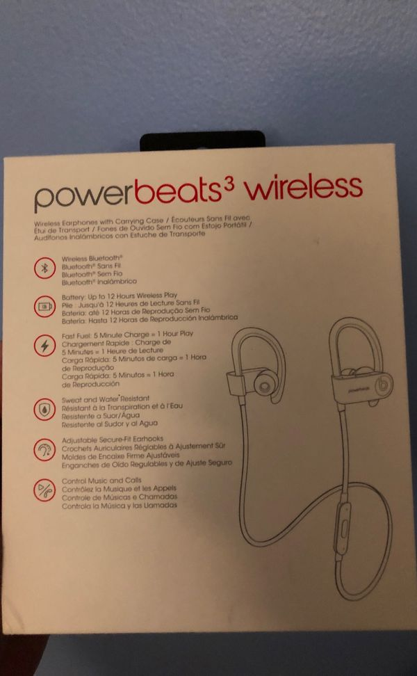 Powerbeats 3 Wireless - Black