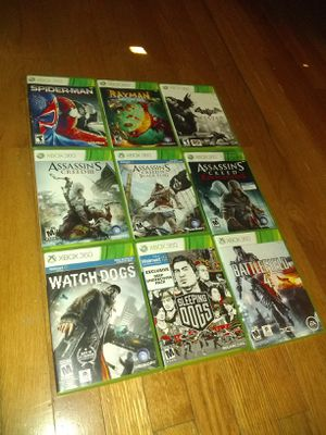 9 XBOX 360 games for kids and UP for Sale in Columbus, OH
