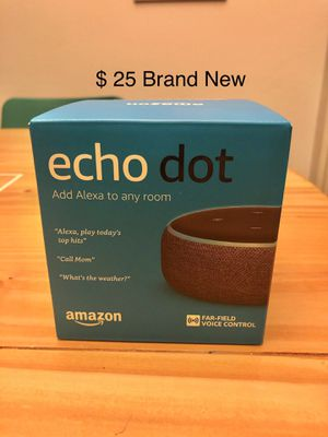 *BRAND NEW* Amazon Echo Dot, $25 for Sale in Long Beach, CA