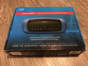 Linksys Dual Band Router E3000 for Sale in San Marcos, CA