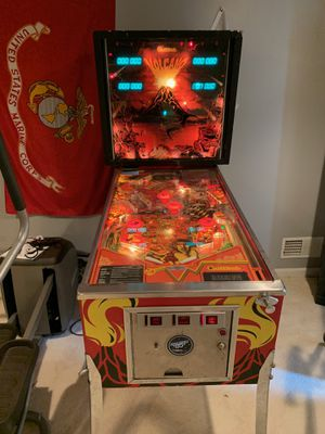 Gottlieb pinball volcano arcade game for Sale in Haymarket, VA