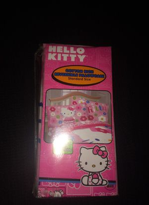 Hello Kitty Reversible pillowcase for Sale in Columbia, MD