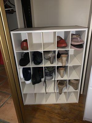 Shoe storage - holds 25 for Sale in Orange, CA