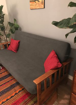 Full size, high quality futon for Sale in Seattle, WA