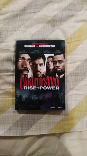 Carlito's Way rise to power DVD for Sale in New York, NY
