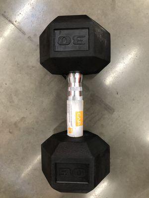 Cap 30 lb dumbbell * Set * 60 lb total for Sale in West Valley City, UT