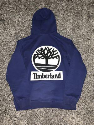 Supreme Timberland Men's XL blue hoodie for Sale in Olympia, WA