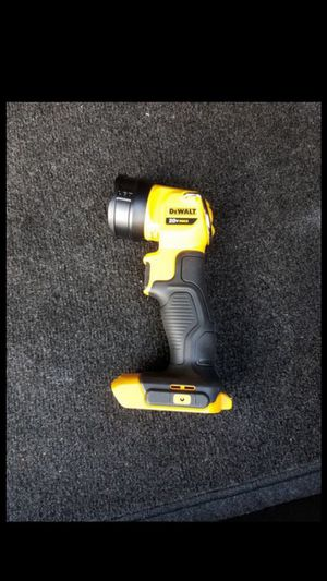 New dewalt 20v MAX work flashlight [tool only] for Sale in Ashburn, VA