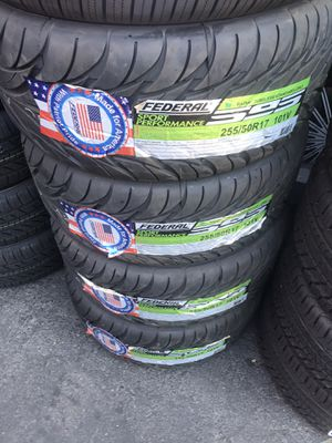 255-50R17 SET OF 4) BRAND NEW TIRES ON SALE for Sale in Lafayette, CA
