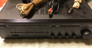 Yamaha Natural Sound Stereo Audio Receiver R-95 w/ Speaker Wire, RCA Cable, & antenna for Sale in Chandler, AZ