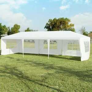 10'x30' Outdoor Party Wedding Tent Canopy Heavy duty Gazebo Pavilion 5 Sidewall for Sale in Alhambra, CA