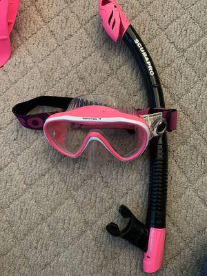 Scuba pro mask and snorkel. for Sale in Sulphur, LA