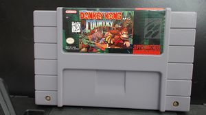 Donkey Kong Country Super Nintendo SNES 1994 Cart ONLY for Sale in Lake Elsinore, CA