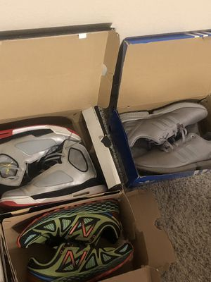 Shoes-Jordan's, vans, new balance , adidas, Toms, old Doc Martin boots for Sale in Fort Worth, TX