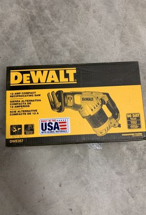 Dewalt. New. Box never opened for Sale in Chino, CA