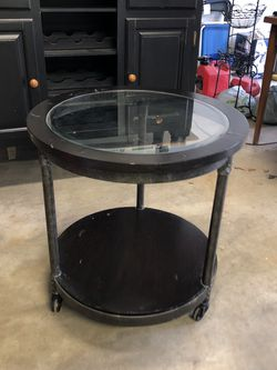 Industrial Style End Table $55 for Sale in Riverside,  CA