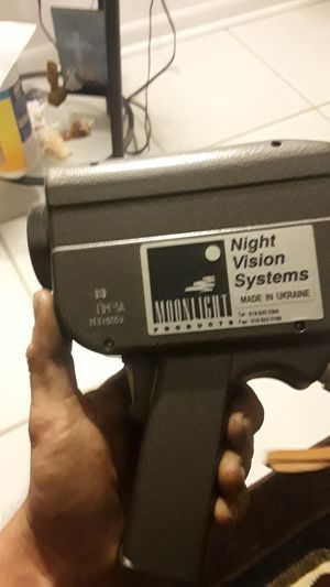 Moonlight products night vision system from the Vietnam War for Sale in BELLEAIR BLF, FL