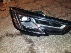 Audi a4 s4 2017 2018 2019 right side headlight led for Sale in Dallas, TX