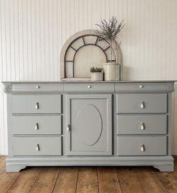 Large Grey Blue Dresser for Sale in Seattle,  WA