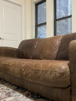 Top Grain Leather Couch Set 3 Seat And 2 Seat for Sale in New York,  NY