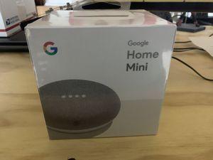 Google Home Mini Chalk Color - New Sealed $20 for Sale in Elmendorf, TX