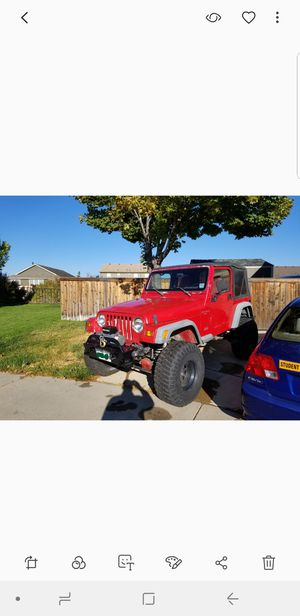 1998 TJ JEEP WRANGLER for Sale in Aurora, CO