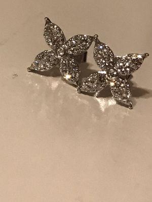 .90 ct Diamond Earrings, VS2 for Sale in Turlock, CA