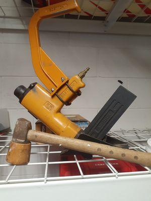 bostich pneumatic floor nailer for Sale in MAGNOLIA SQUARE, FL
