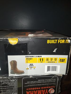Caterpillar men's shoes and Boots for work for Sale in Glendale, AZ
