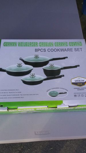 Brand New in box, German heavy cast non stick cookware set for Sale in Vista, CA