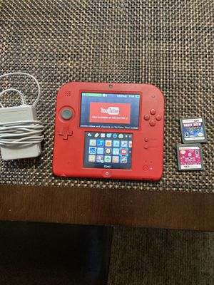 Nintendo 2DS Red/Black for Sale in Corona, CA