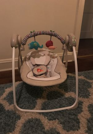 Ingenuity soothe n Delight Portable swing for Sale in Smithfield, VA