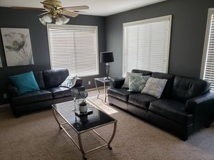 Black couches set for Sale in Sunnyvale, CA