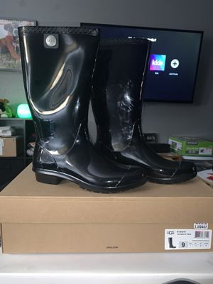 UGG - Black Rain Boots for Sale in San Jose, CA