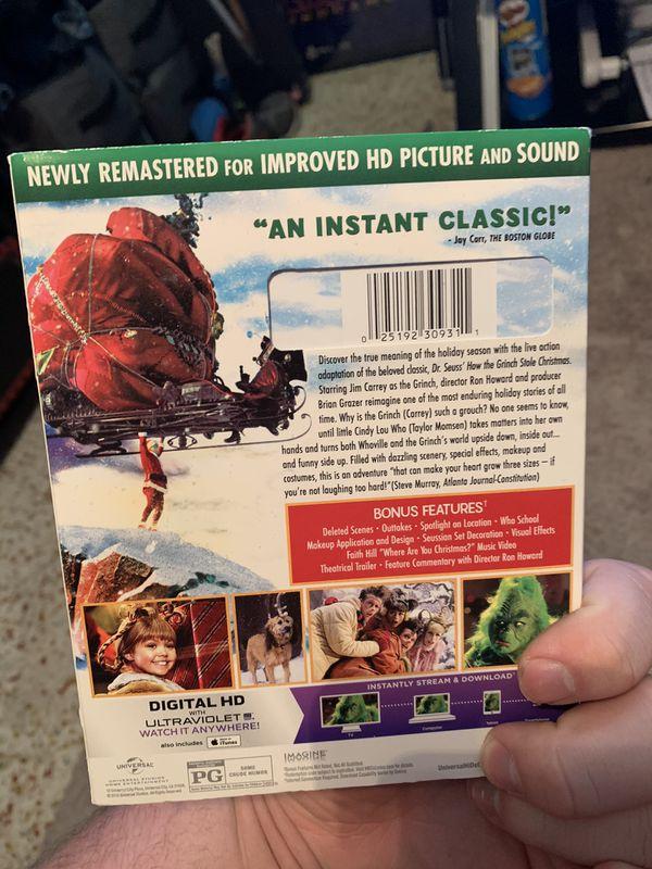 The grinch Blu-ray