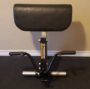 Powertec preacher curl attachment for Sale in Riverside, CA
