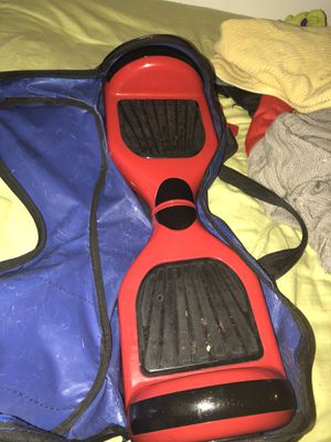 Red BLUETOOTH Hoverboard for Sale in East Saint Louis, IL