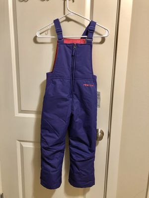 Arctix Snow Bib Overalls Purple Toddler size 5T NWT for Sale in Renton, WA