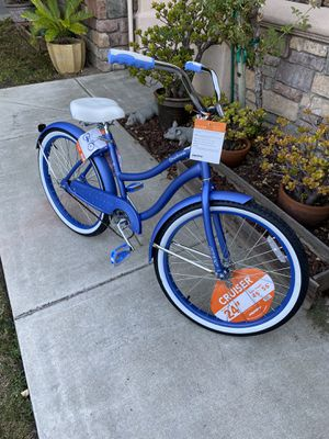 """Huffy 24"""" Cranbrook Women's Comfort Cruiser Bike in Periwinkle Blue **new in box** for Sale in Fremont, CA"""